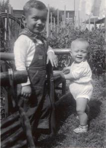 Cousins.  Summer 1952. 5th St. , Sharpsville