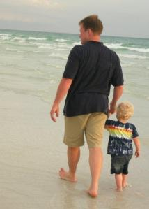 Me & My Dad. July 2007, Siesta Key