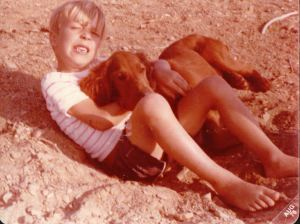 Buddies. August of 1976. St. Andrew's Park.