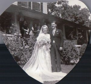 New Mr. & Mrs.  Greenville, PA.  August 16, 1938.